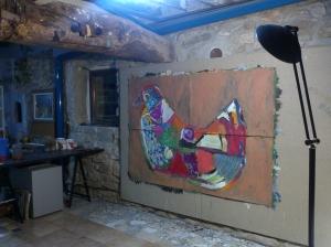 la paloma-gallina