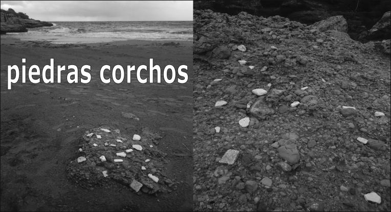 piedras corchos